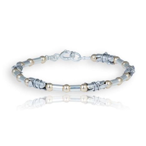 Gold and Silver Comtemporary Bracelet | Image 1