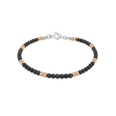 Gold and Silver Oxidised Bracelet  | Image 1