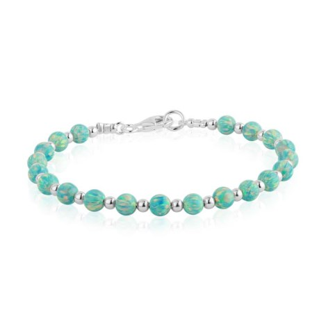 Green Opal Beaded Bracelet | Image 1