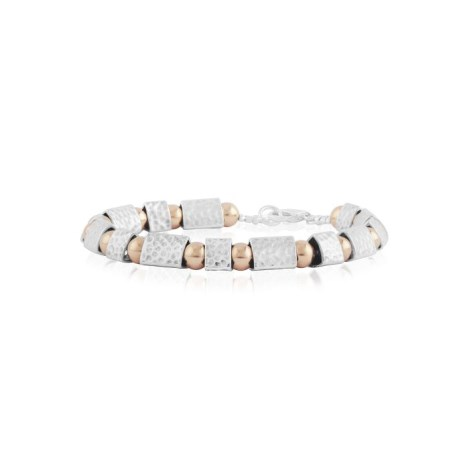 Rose gold and silver bracelet | Image 1