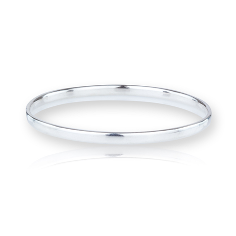Handmade Sterling Silver Bangle | Image 1