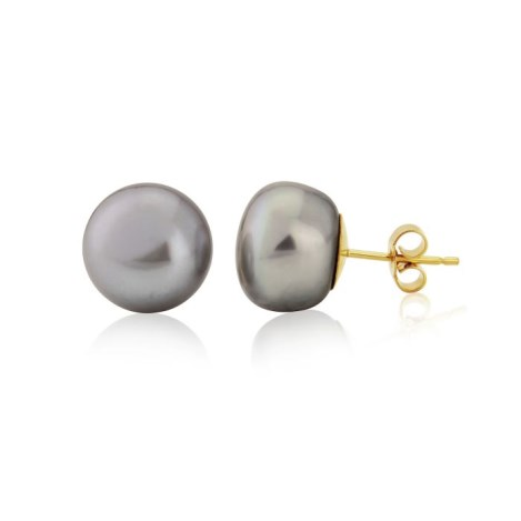 Handmade Gold and Pearl Earrings | Image 1