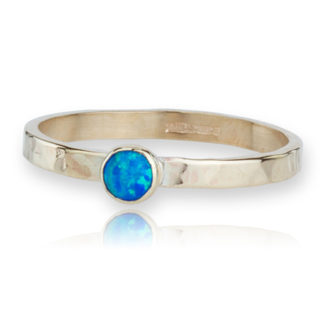 Handmade 9ct Gold Opal Ring | Image 1