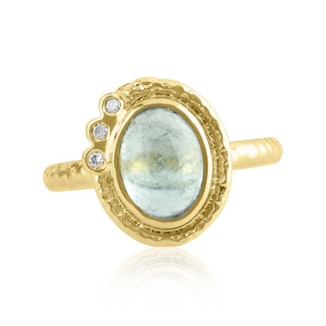 18ct Gold Tourmaline Ring | Image 1
