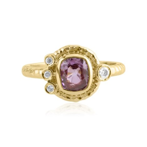 18ct Gold Sapphire and Diamond Ring | Image 1