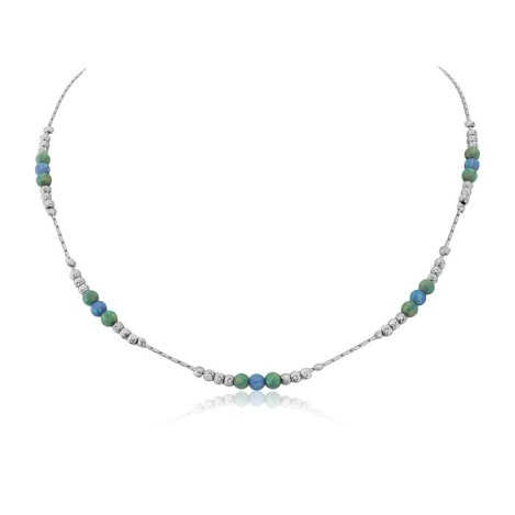 Blue Green Opal Necklace | Image 1
