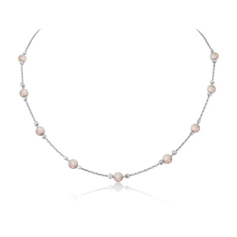 Silver Opal Necklace | Image 1