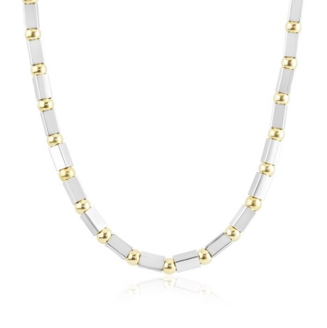 Gold and Silver Necklace | Image 1
