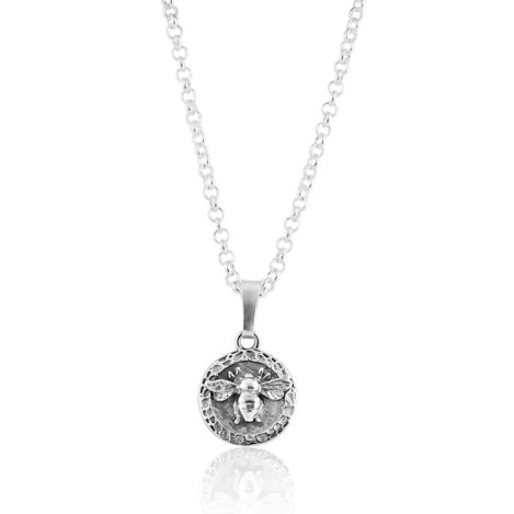 Silver bee pendant | Image 1