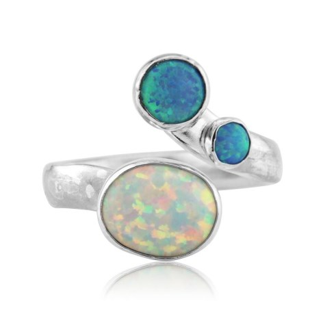 Silver and Opal Ring | Image 1