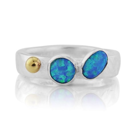 Opal and Gold Ring | Image 1