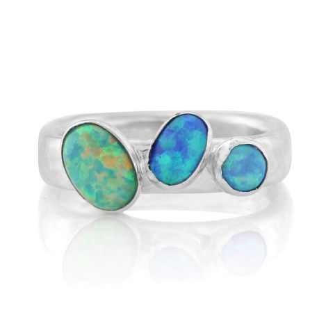 Silver Opal Ring | Image 1