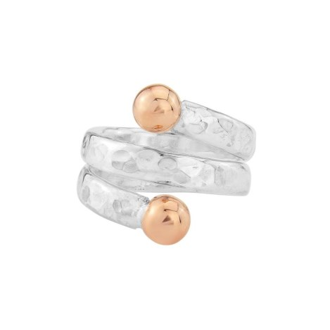 Rose Gold and Silver Ring | Image 1