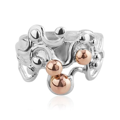 Silver and Rose Gold Ring | Image 1