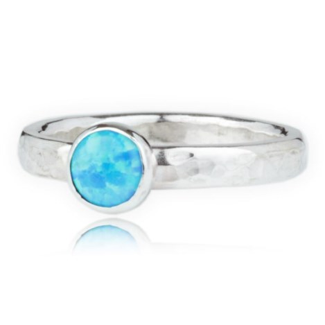 Sterling Silver Opal Ring | Image 1