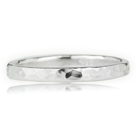 Sterling Silver Hammer Ring | Image 1