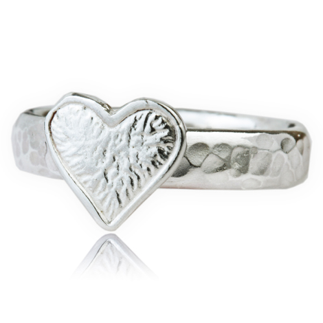Sterling Silver Heart Ring | Image 1
