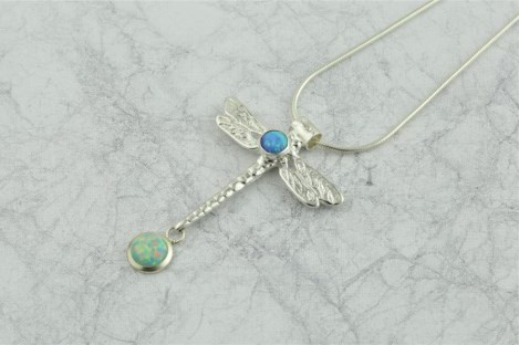 Dragonfly Opal Pendant | Image 1