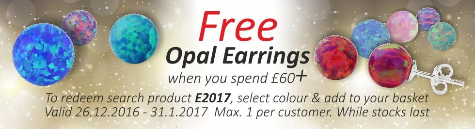 free opal earrings